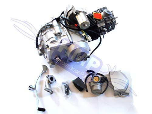 HMParts Motor Set 125 CCM halbautomatik R0123 Anlasser Oben Quad RC ATV