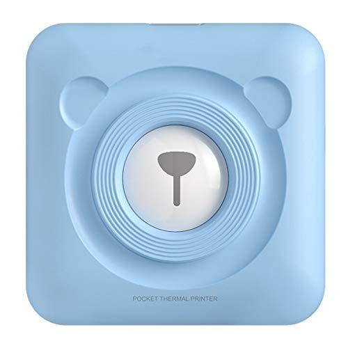cdhgsh Impresora de Notas portátil Meow Impresora térmica de Etiquetas Bluetooth Impresora térmica inalámbrica de 58 mm [Azul] Impresora Bluetooth portátil Azul