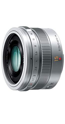 パナソニック 単焦点 広角レンズ マイクロフォーサーズ用 ライカ DG SUMMILUX 15mm/F1.7 ASPH. シルバー H-X015-S