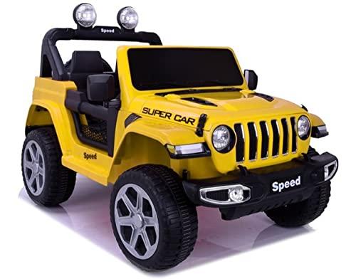 Kinder Elektroauto Yellow Off Roader...