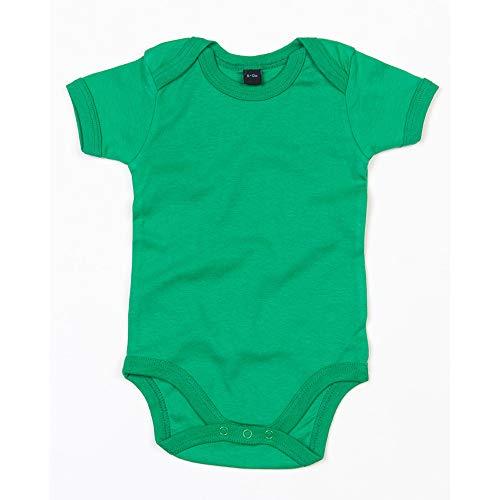Babybugz - Body para bebé (12-18/Verde césped )