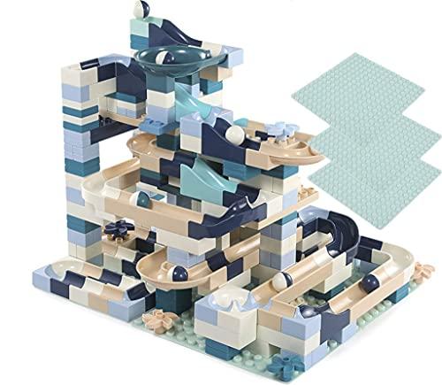 LVLUOKJ Rompecabezas Puzzle Juguetes de Rompecabezas Modelo de Ladrillos de construcción para Niños Niña 3 4 5 6 Años Educativo Regalo (Size : 80pcs)
