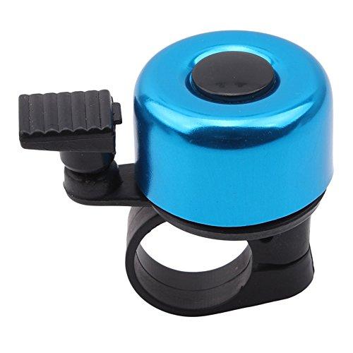 Ellepigy Rerto Fahrrad Glocke Klingel Ring Fahrradglocke mit Aluminium Fahrradklingel (Blau)