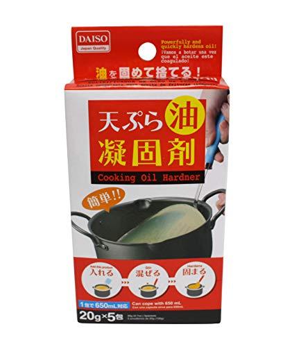 Japan Plantaardige Olie Hardening Agent. Olie Coagulant. Stolt oude frituurolie.