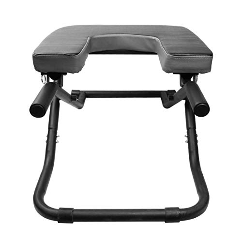Best Price LLC-POWER Yoga Inversion Bench U-Shaped Stool, Headstand Bench Stand Yoga Chair for Famil...