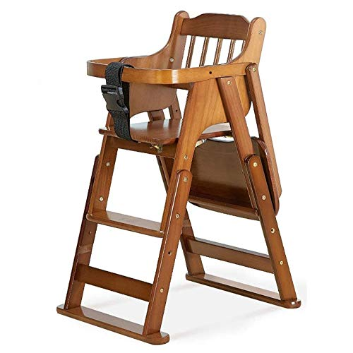 New CHENNAO Wooden High Chair for Babies - High Chair from Infant to Toddler with Baby Bouncer Inser...