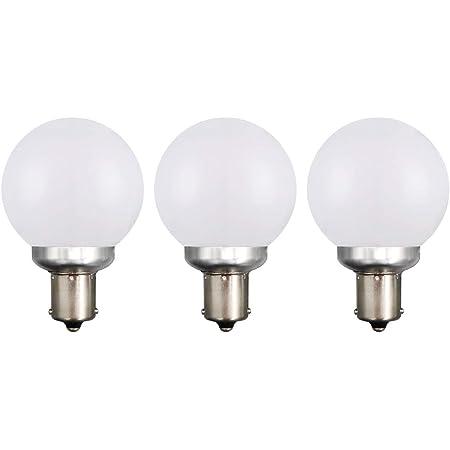 DengTA 1156 1141 BA15S LED Replacement Bulbs for Marine Boat Lights and RV Lights SC Single Bottom Contact Bayonet Base 1 Pack 3-Watt, Cool White