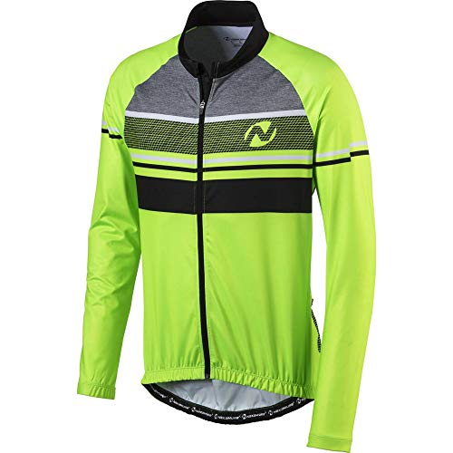 Nakamura Herren Fahrrad-Dattilo Trikot, Green Gecko, L