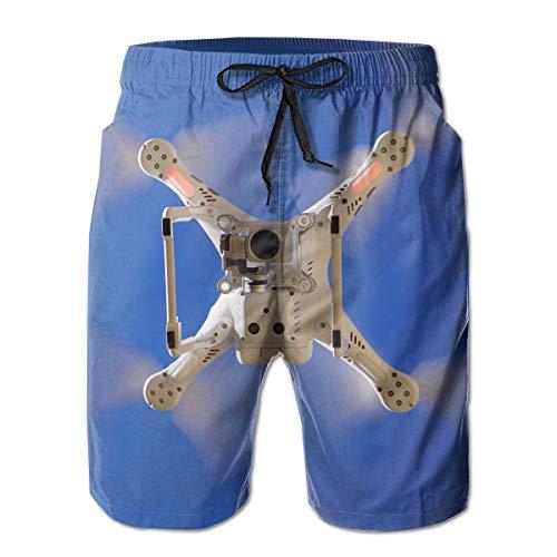 Jiger Swim Trunks Summer Cool Quick Dry Board Shorts Bathing Suit, Low Angle View Fotografie van Drone, Beach Swim Trunks