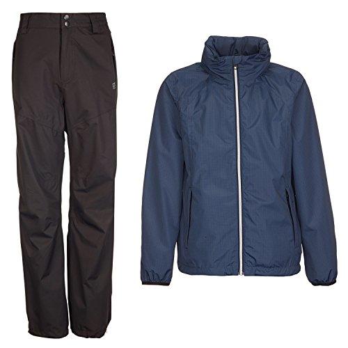 Killtec Regenset Navy/schwarz Gr. 128 wasserdicht Winddicht Regenjacke Regenhose Regenbekleidung Outdoorbekleidung