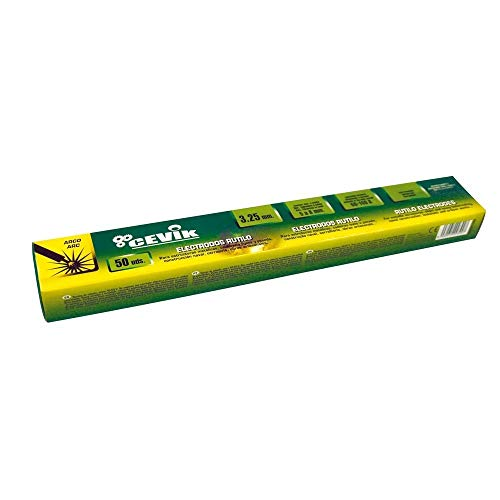 Cevik TECA502.5RU Caja 50 uds electrodos rutilo 2,5 mm