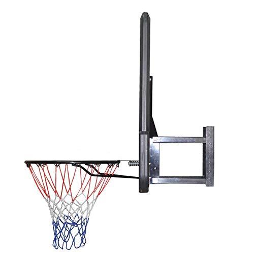 WENZHE Redes Aros Canasta De Baloncesto Tableros Portátiles De Baloncesto Adulto Montado En La Pared Al Aire Libre Estándar Rebotes 110x75cm