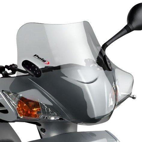 Windschild Puig City Sport für Honda Dylan 125 02-06 rauchgrau