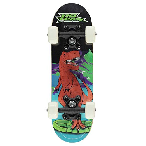 No Fear Kids Micro Skateboard Big Cat One Size