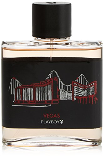 Playboy Vegas 100ml Eau de Toilette Spray für Ihn, 1er Pack (1 x 100 ml)