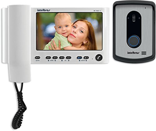 Video Porteiro, Intelbras IV 7010 HS, Branco