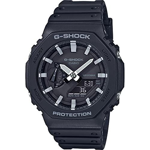 Casio Unisex Analog – Digital Quarz Uhr mit Kautschuk Armband