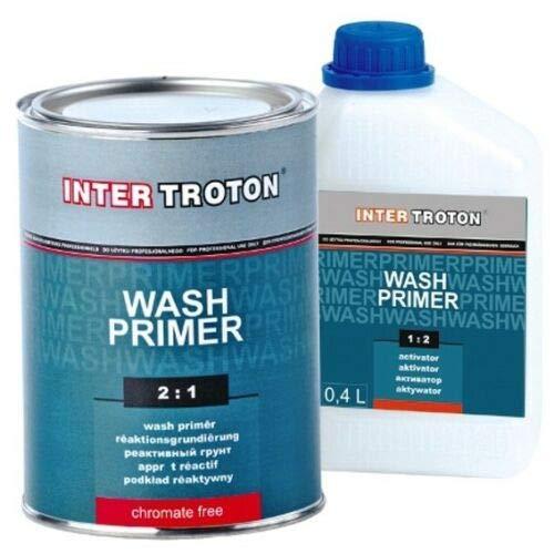 Troton Haftgrund 1,2L Wash Primer 2K Reaktionsgrundierung 2:1 Reaktionsprimer