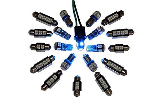bleu innenraumbleuchtung 9 canbus innenraumset lED's