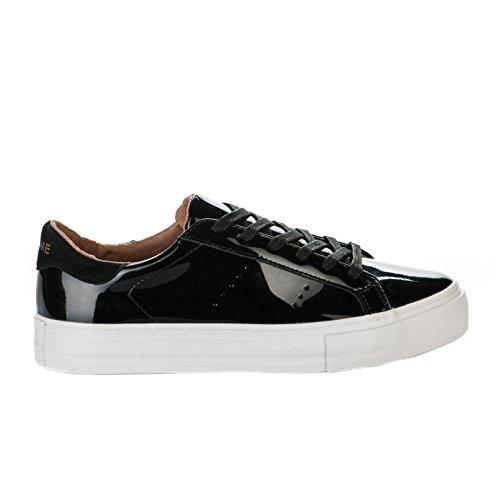 No Name, Unisex-Kinder Sneaker , Schwarz - schwarz - Größe: 40