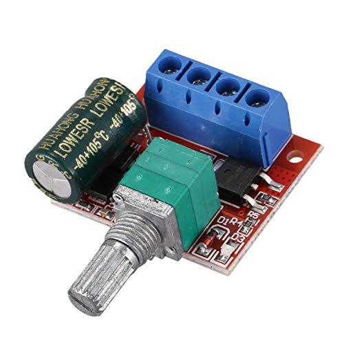 Casinlog Regulador de velocidad de motor DC 5-35 V 5 A PWM, regulador de luz LED 10 Khz (paquete de 4)