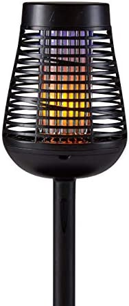PIC Solar Insect Killer Torch DFST Bug Zapper and Accent Light Kills Bugs on Contact Twin Pack product image