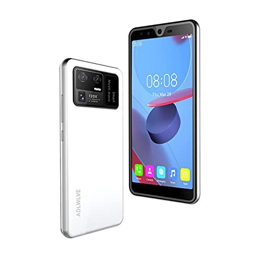 4G Smartphone Offerta del Giorno,4GB RAM/64GB ROM,5.5 Pollici Waterdrop Android 10.1 Cellulari e Smartphone 13MP Fotocamera Telefono Cellulare con Wifi Dual SIM 5000mAh Cellulare Offerta (bianco)