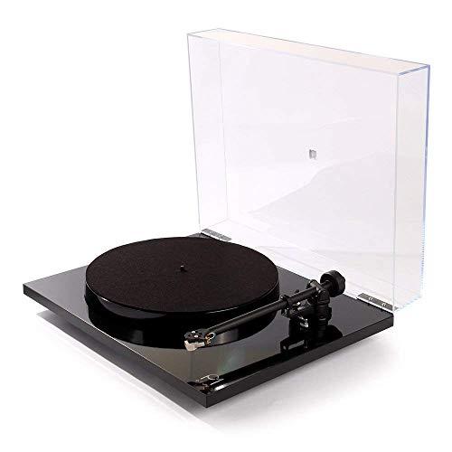 Planar 1 Plus (schwarz) Rega Plattenspieler mit integriertem Phono-Vorverstärker