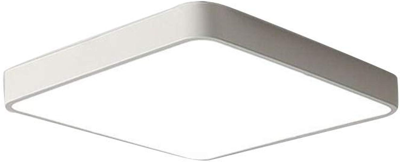 Quadratische Deckenbeleuchtung Unterputz, einfach in der Nhe der Deckenbeleuchtung für Schlafzimmer Esszimmer Balkon-L  30 cm (11,8 Zoll)  B  30 cm (11,8 Zoll) -18 W-1 Weilicht