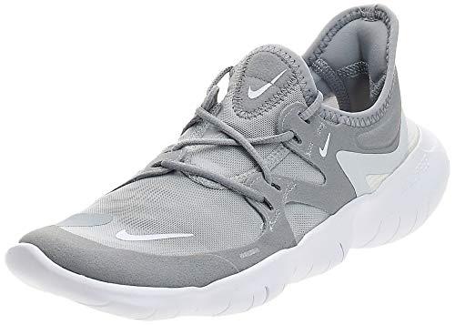 Nike Women's Free RN 5.0 Running Shoe Wolf Grey/White/Pure Platinum Size 8 M US