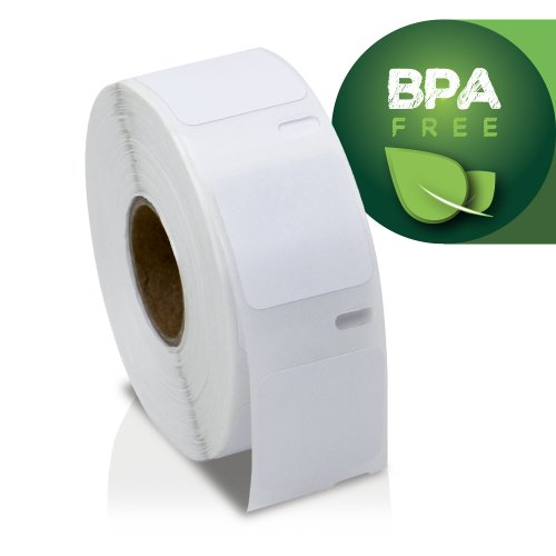 """OfficeSmartLabels - 1"""" x 1"""" Multipurpose Labels, Compatible with 30332 (1 Roll - 750 Labels Per Roll) Photo #2"""