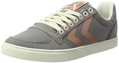 hummel Damen SL. Stadil Herringbone Low Sneaker, Grau (Frost Grey), 36 EU