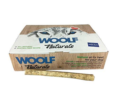 Woolf Snack Naturals Palitos Ternera y Tripa de 22 cm. Caja 50 und