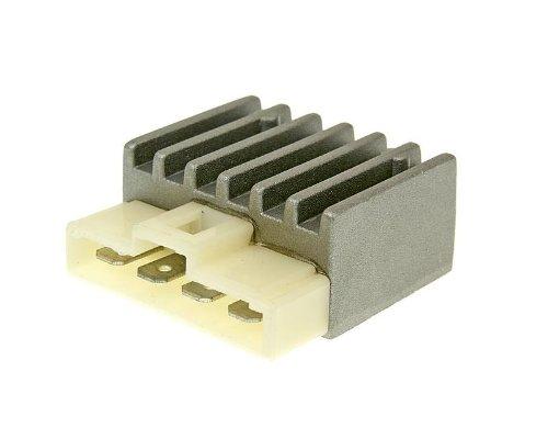 Regler/Gleichrichter für Roller mit Minarelli Motor (Aprilia, MBK, Yamaha, MBK, Benelli, Beta, Italjet, Malaguti)