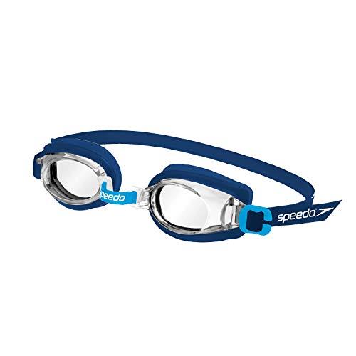 Oculos Jr Captain Speedo Único Marinho Cristal
