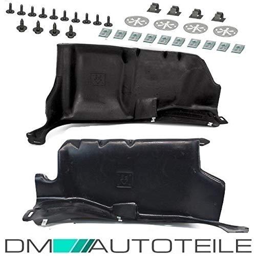 DM Autoteile Golf 4 Bora A3 Leon Octavia Unterbodenschutz vorne SET Fahrschutz +MONTAGESET