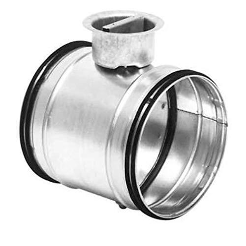 Absperrklappe DTU dichtschließend mit Lippendichtung NW 80 bis 355 mm Rohreinbau (NW 100mm)
