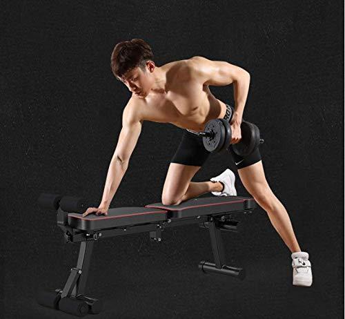 Product Image 3: KKLTDI Utility Folding Bench Roman Chair Exercise Equipment for Home,Gym & Fitness Studio,Adjustable Dumbbell Fitness Bench Black
