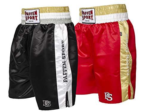 Paffen Sport PRO Mexican Profi-Boxerhose – schwarz/weiß – Größe: L