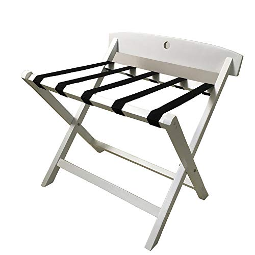 New Luggage rack, Hotel Hotel Solid Wood Bedroom Room Folding Clothes Home Rack,b,64cm43cm61cm