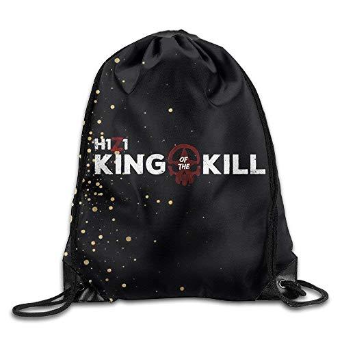 H1Z1 King Of The Kill Drawstring Backpack Sack Kordelzug Paket