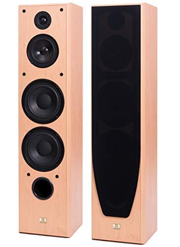 Rigonda-S FS-5.3 Coppia Diffusori Casse acustiche RADIOTEHNIKA 3 vie 180W Faggio