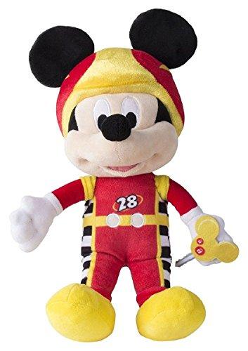 IMC Toys 182417MM2, Peluche Topolino e gli amici del Rally con suoni Funny Sound