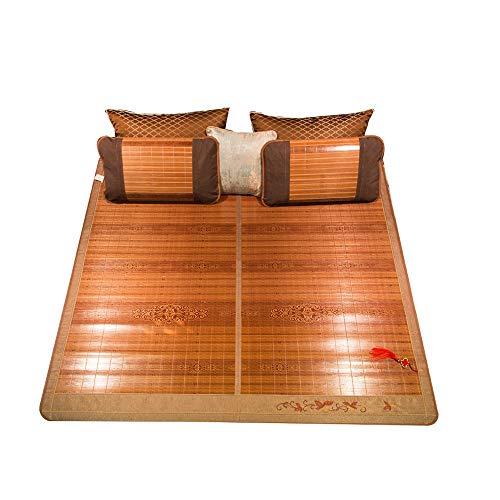 YXF-rotan mat koele bamboemattenfamilie kiezen koele mattenopvouwbare matras bamboe matten-zomerkoeling-slaapmattenmat Cool in de zomer