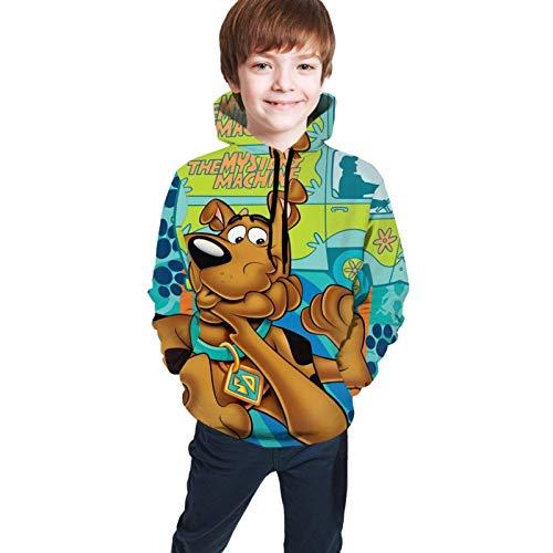 Sudaderas con Capucha de Manga Larga/Sudadera con Capucha Sudadera con Capucha Scooby-Doo para niños Niños Niñas