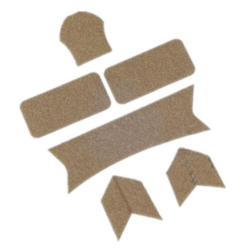DLP Tactical Enhanced Hook and Loop Fastener Set Compatible with OPS-Core Maritime/Fast/ACH/MICH Helmet (Tan)