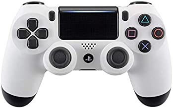 eXtremeRate Soft Touch Front Housing Shell Cover Faceplates for Playstation 4 PS4 Pro Slim Controller CUH-ZCT2 JDM-040 JDM-050 JDM-055 - White