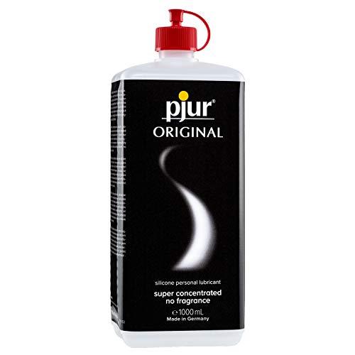 pjur ORIGINAL - Premium Silikon-Gleitgel - lange Gleitfähigkeit ohne zu kleben - sehr ergiebig und für Kondome geeignet (1.000ml)