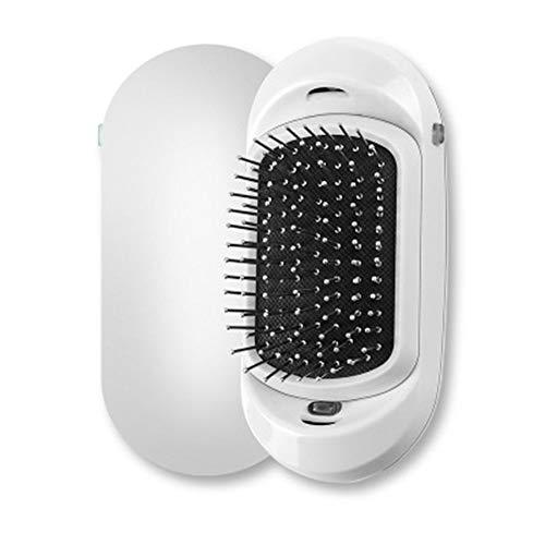 AZLMJXH Ion Hair Brush, 2 Magie Tragbare Elektrische Ion Hair Brush Upgrade-Negativ-Ionen-Haarbürste Haarstyling Kopfhaut-Massage Comb,3