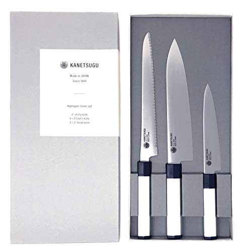 Kanetsugu Professional Japanese Kitchen Knife Set review